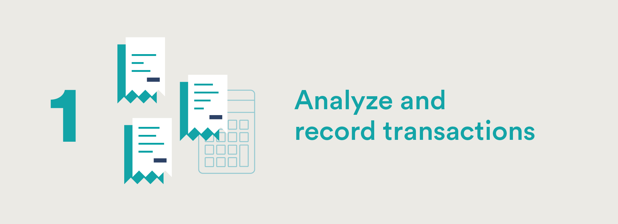 Accounting Cycle Step One: Analyze and Record Transactions